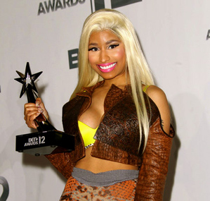 Nicki Minaj BET Awards 2012 [Image by Von Jackson]