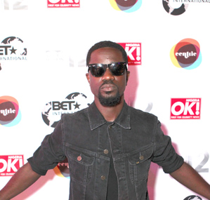 Sarkodie at the BET AWARDS 2012 International Welcome Party [Image by Von Jackson]
