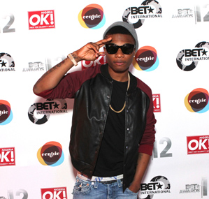 Wizkid at the BET AWARDS 2012 International Welcome Party [Image by Von Jackson]