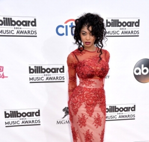 Dencia attends Billboard 2014 Award Show