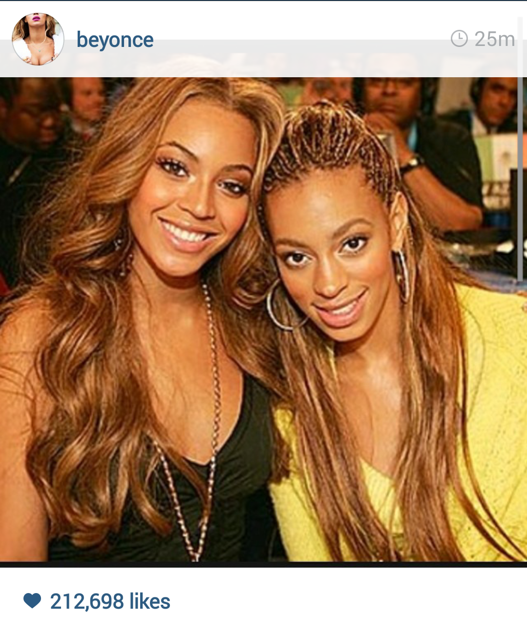 Beyonces Brothers And Sisters OK! NIGERIA